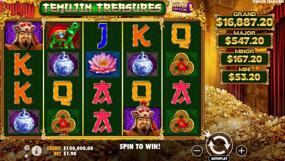 Temujin Treasures - Slot