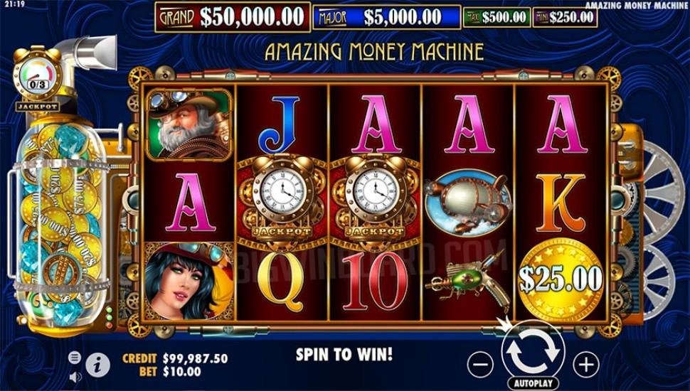 The Amazing Money Machine - Slot