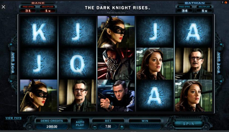 The Dark Knight Rises - Slot