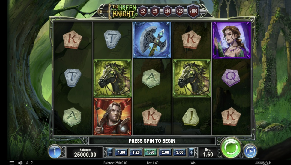 The Green Knight - Slot