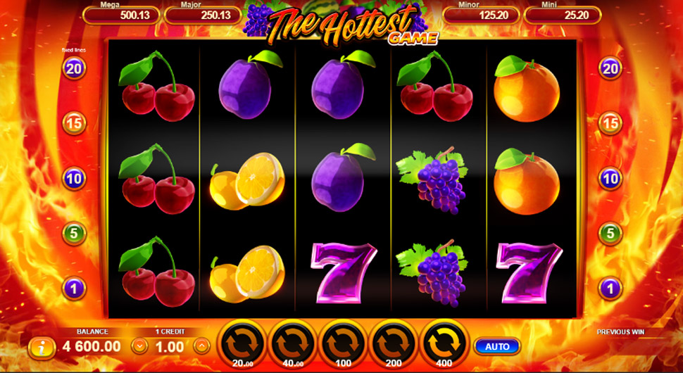 The Hottest Game - slot