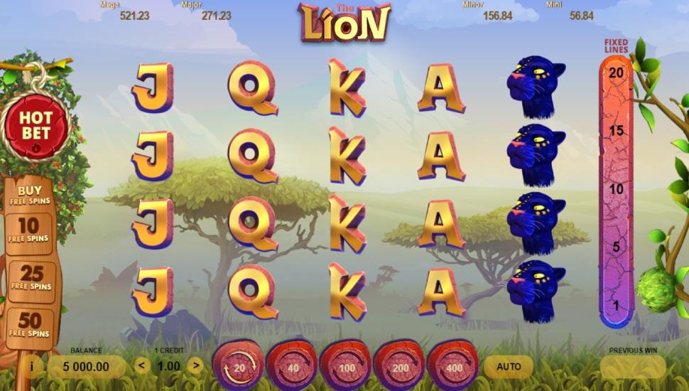 The Lion - Slot