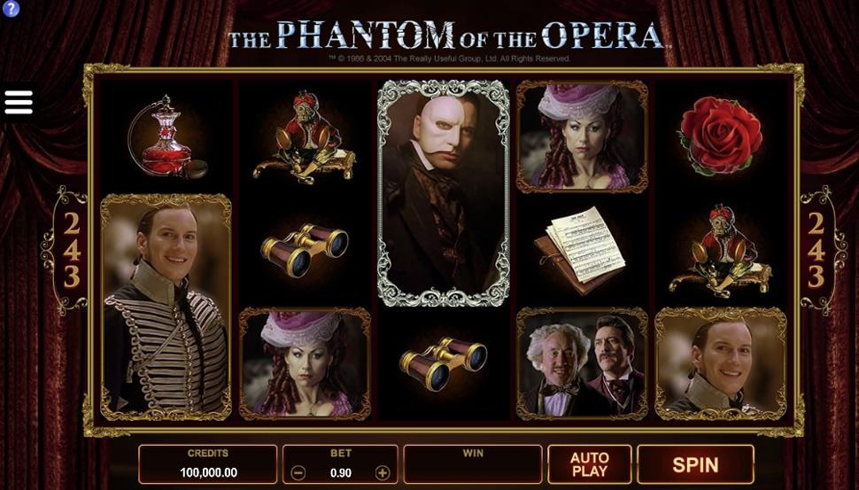The Phantom of the Opera - slot