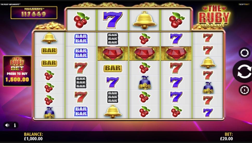 The Ruby Megaways - Slot