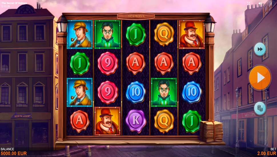 The Secret of Holmes - Slot