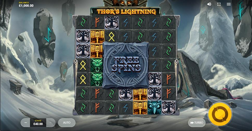 Thor's Lightning - slot