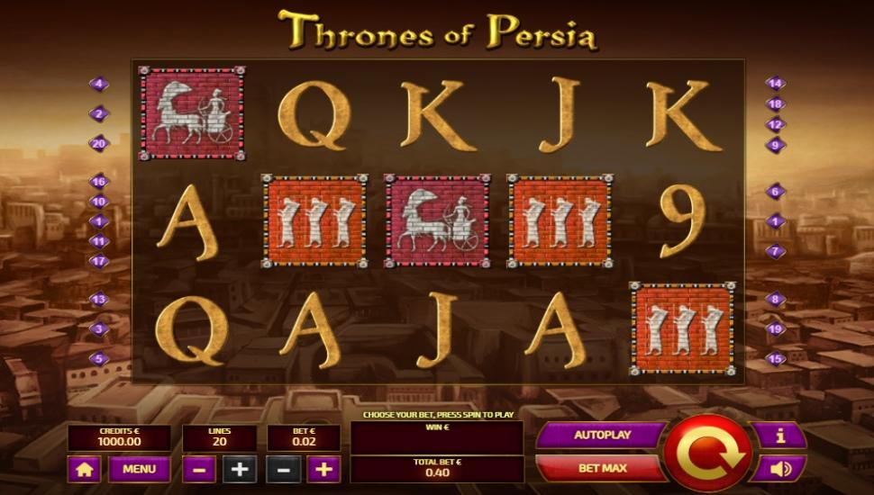 Thrones of Persia - Slot