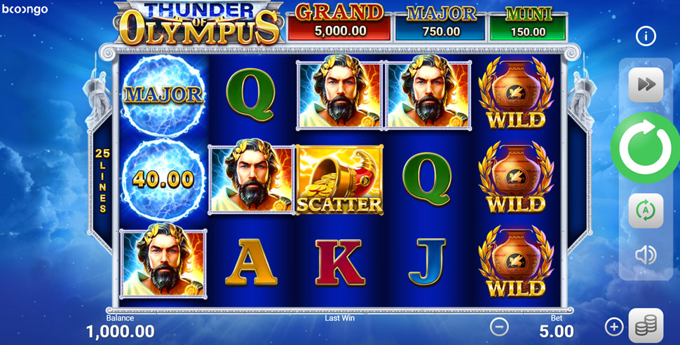 Thunder of Olympus: Hold and Win - Slot