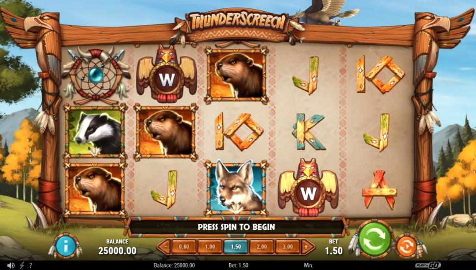 Thunder screech - Slot