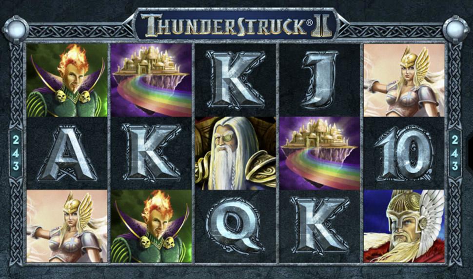 ThunderstruckII - slot