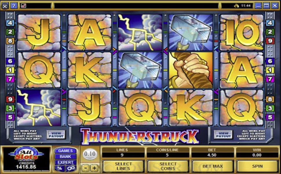 Thunderstruck - slot