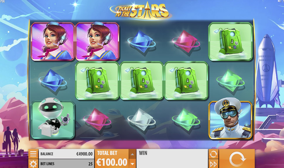 Ticket to the Stars - slot