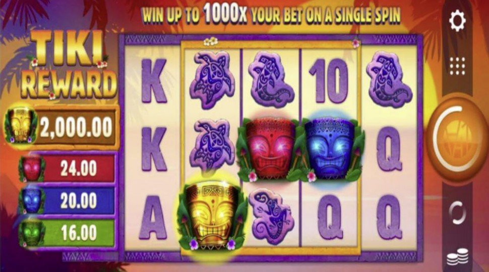 Tiki Reward - slot