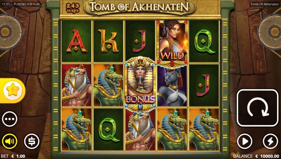 Tomb of Akhenaten - Slot