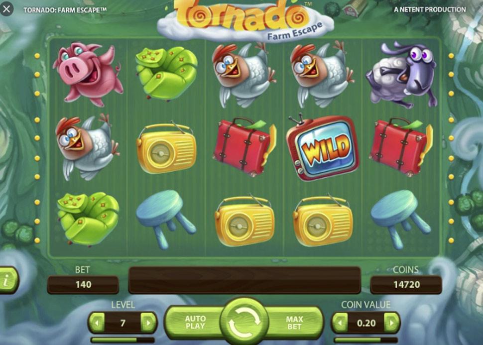 Tornado: Farm Escape - slot