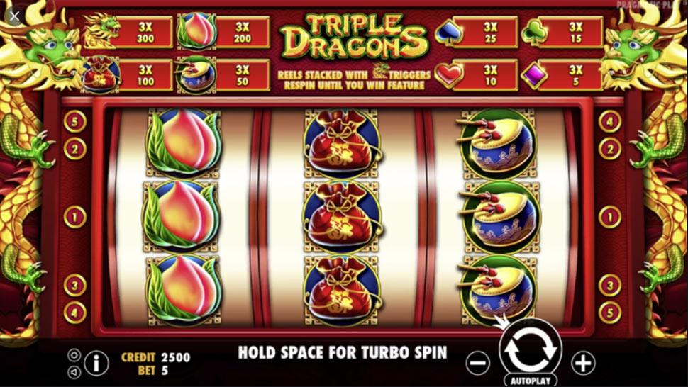 Triple Dragons - slot