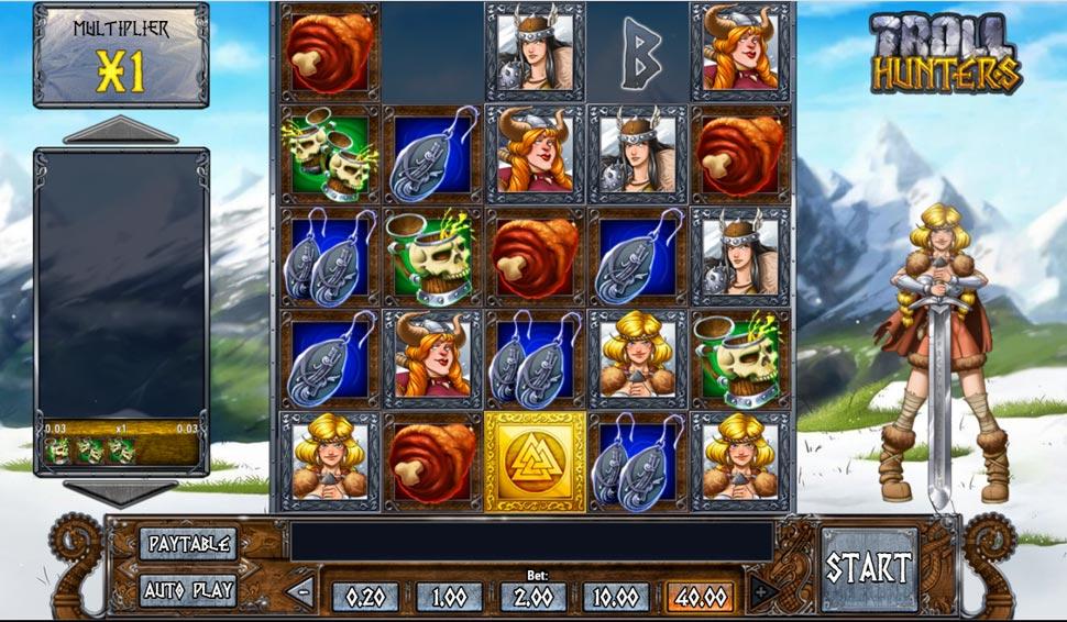 Troll Hunters - slot