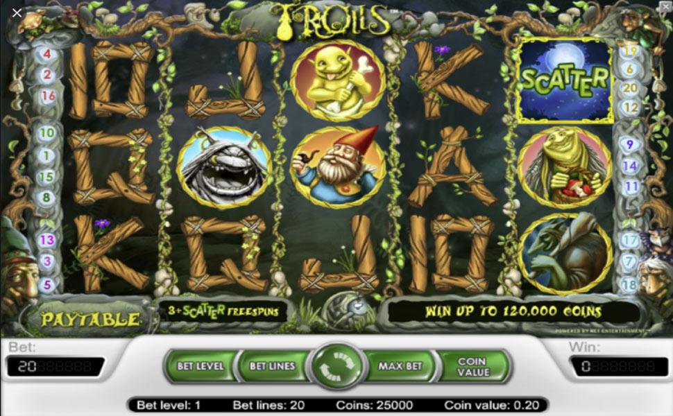 Trolls - slot