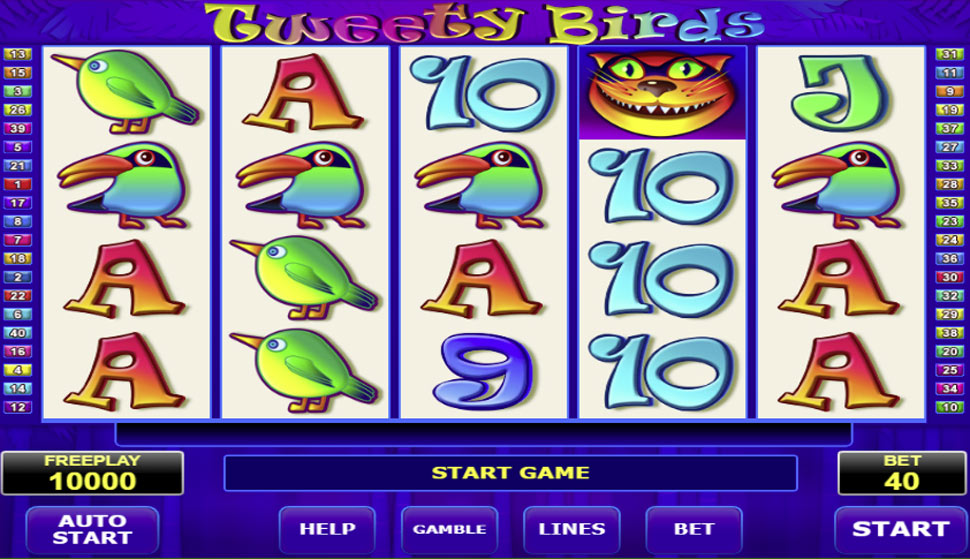 Tweety Birds - slot
