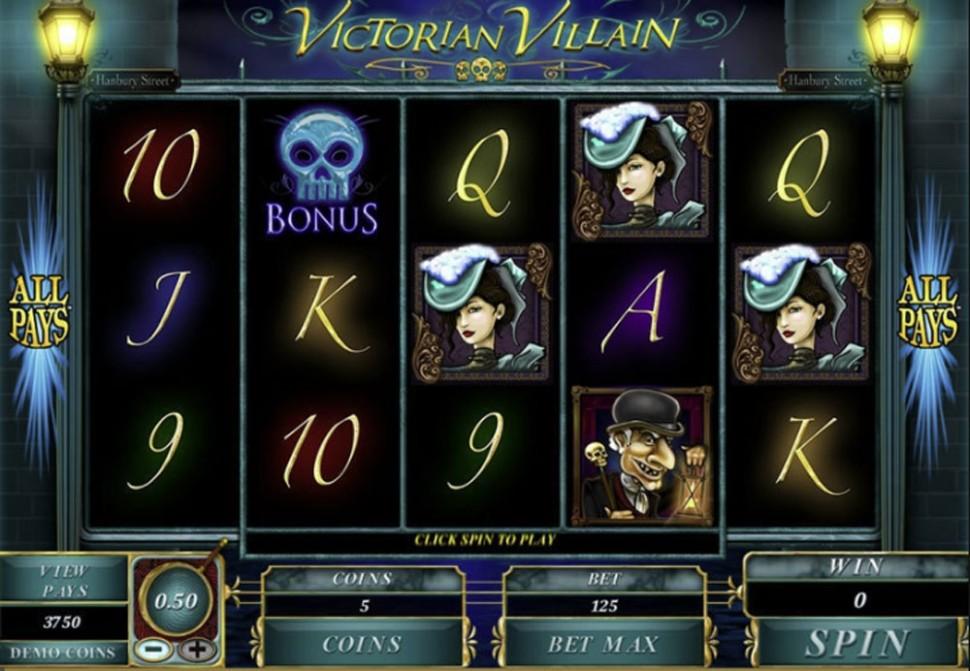 Victorian Villain - slot