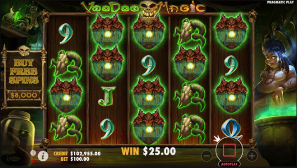 Voodoo magic - Slot