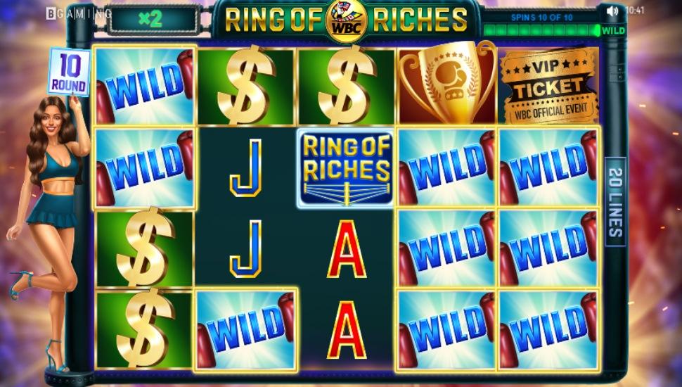 WBC Ring of Riches - Bonus Features