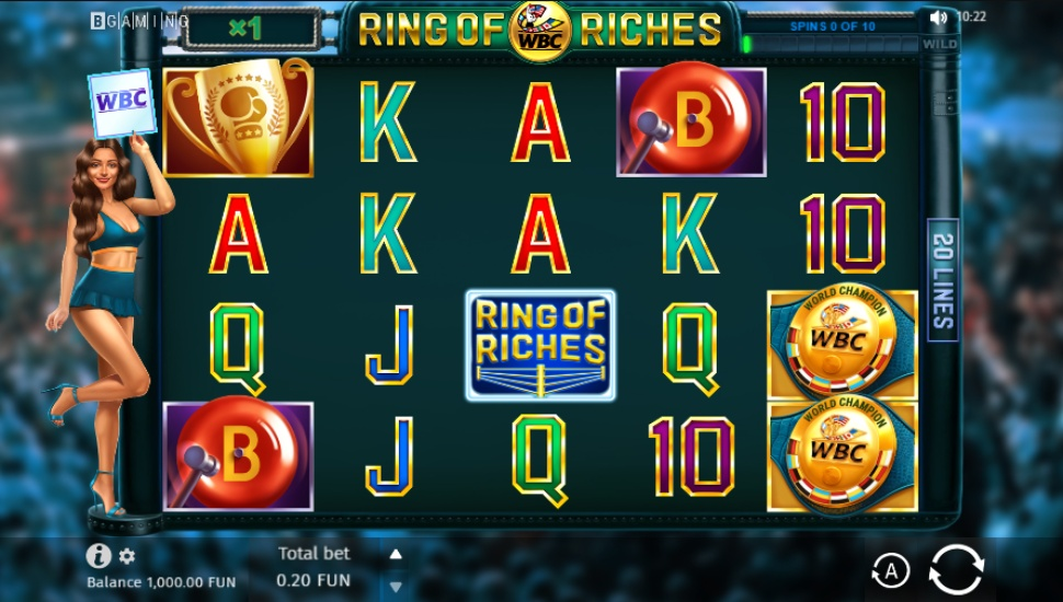WBC Ring of Riches - Slot