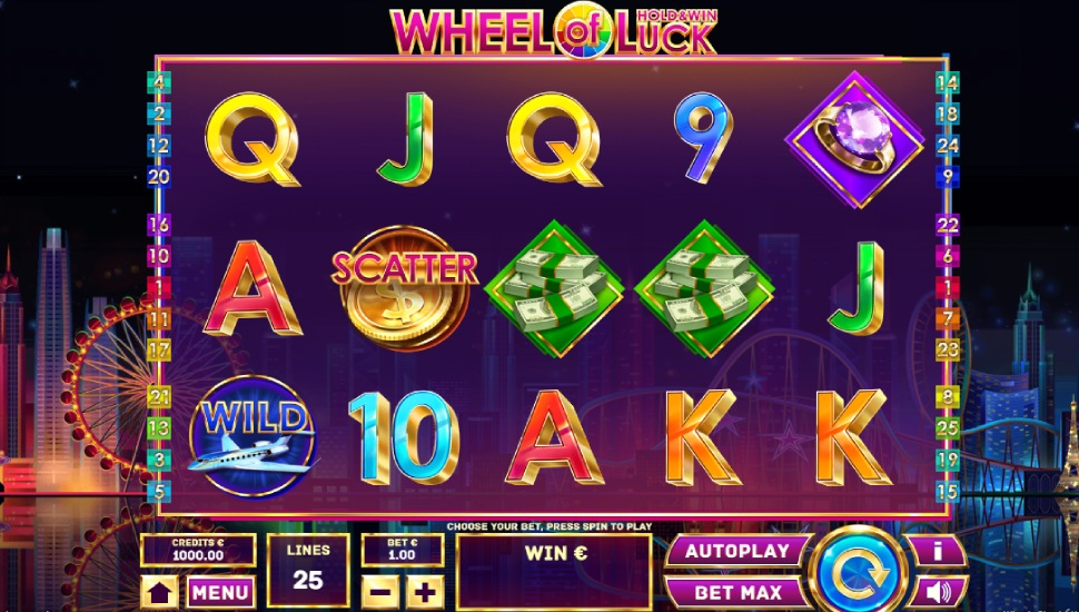 Wheel of Luck Hold & Win - Slot