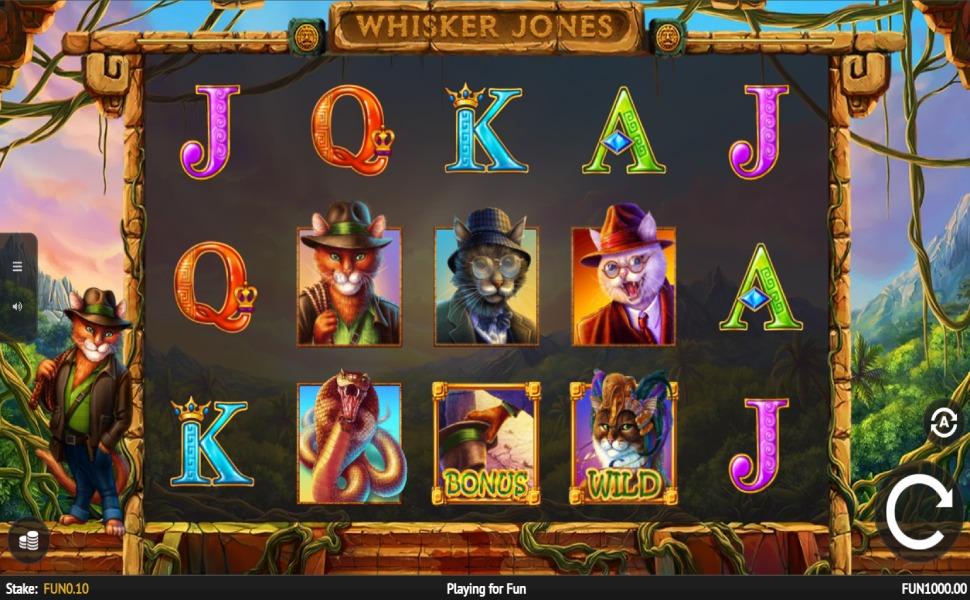 Whisker Jones - Slot