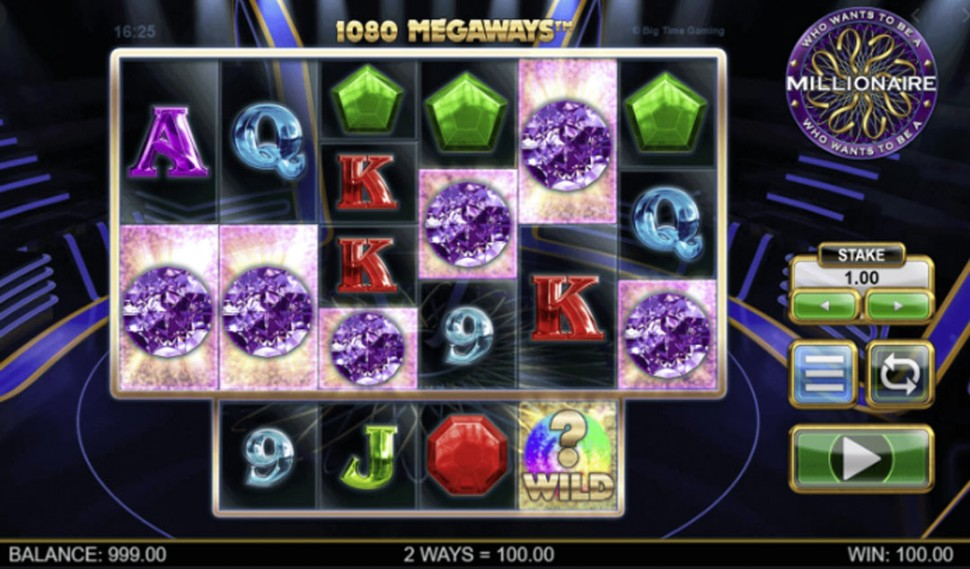 who wants to be a millionaire - slot