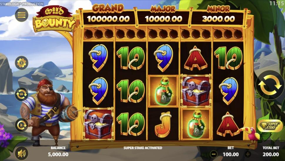Wild Bounty Slot by Stakelogic