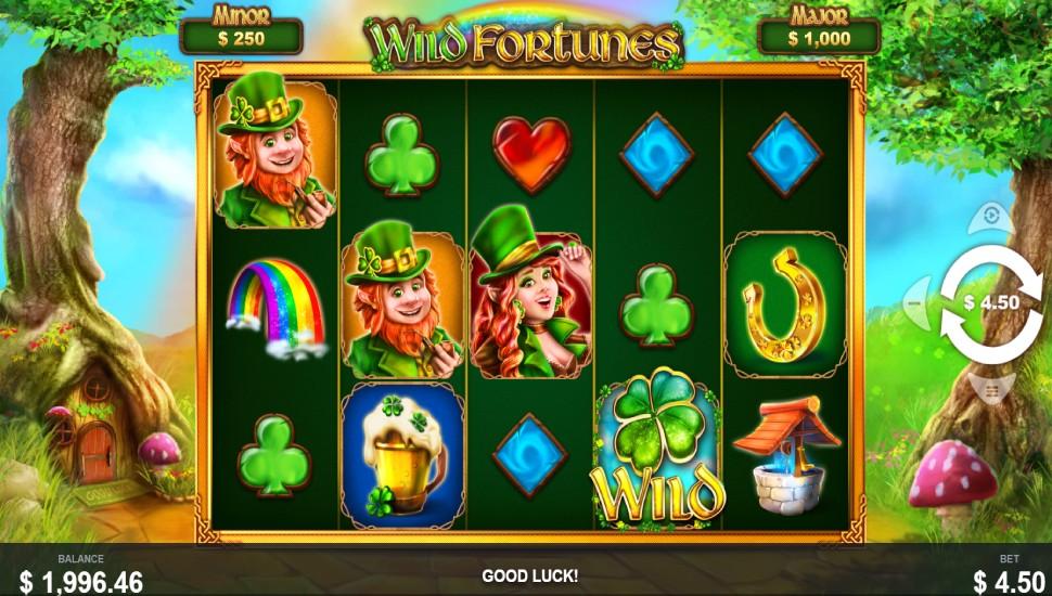 Wild Fortunes - Slot