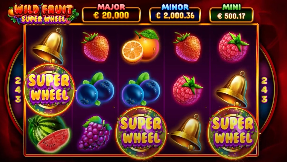 Wild Fruit Super Wheel - Bonus Features