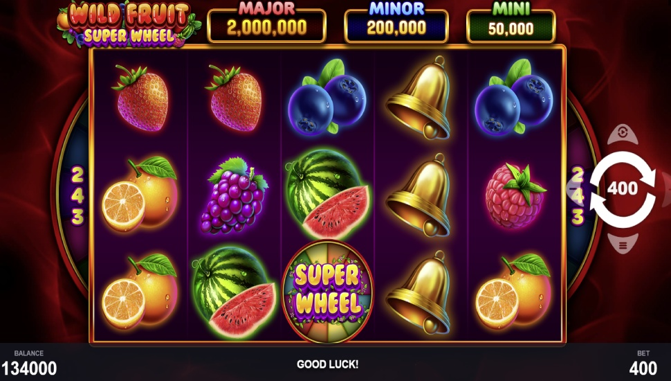 Wild Fruit Super Wheel - Slot