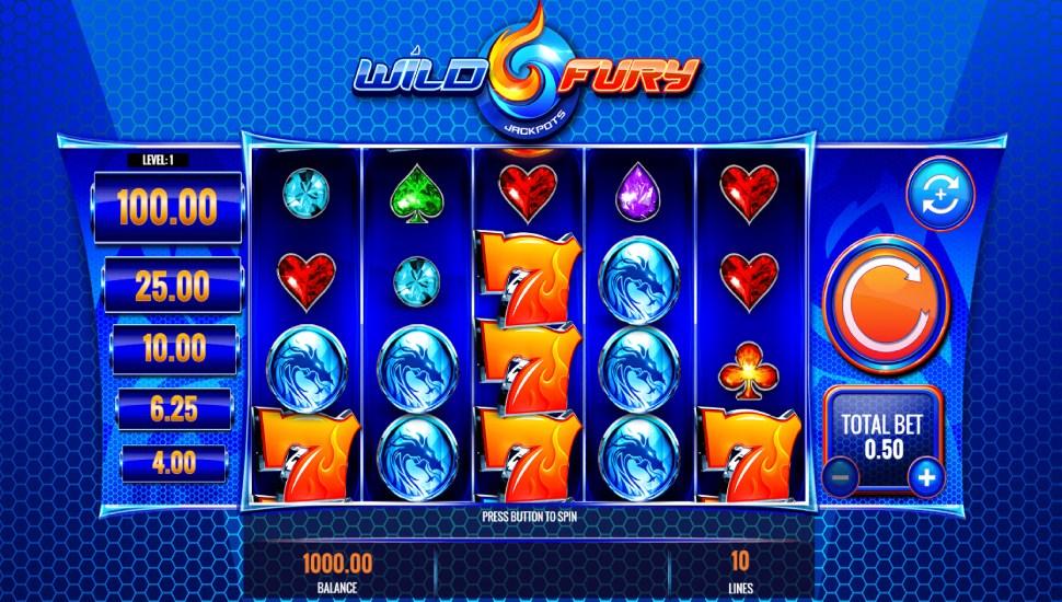 Wild fury jackpots - Slot