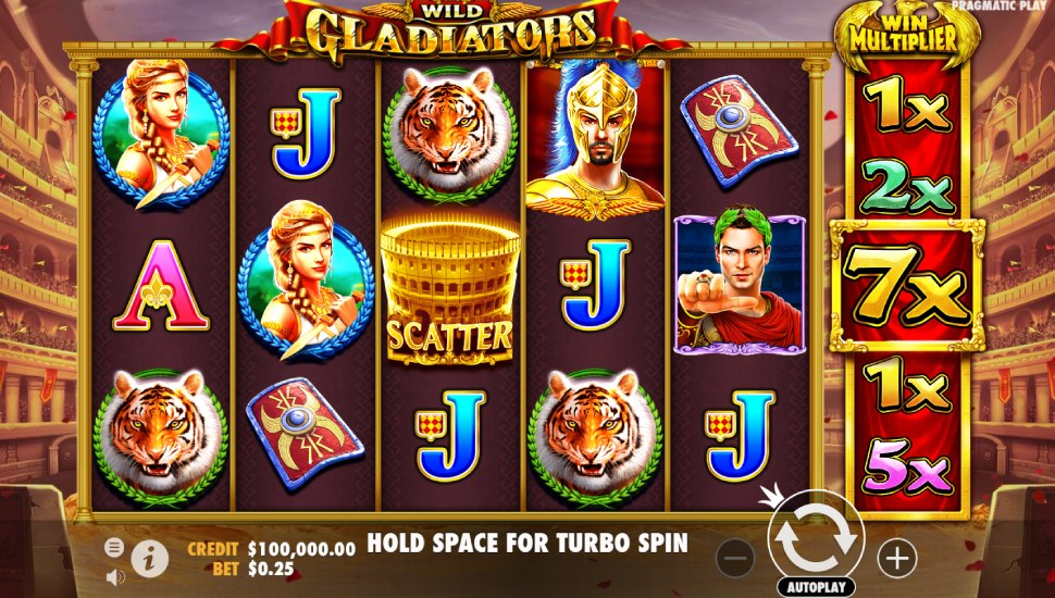 Wild Gladiators - Slot