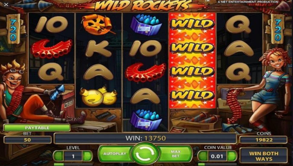Wild Rockets - Slot