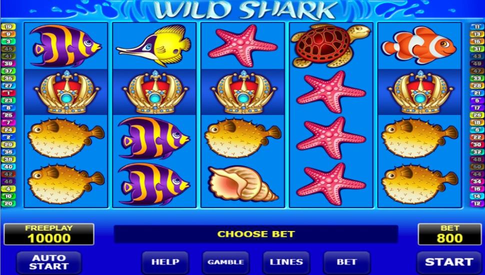 Wild shark - Slot
