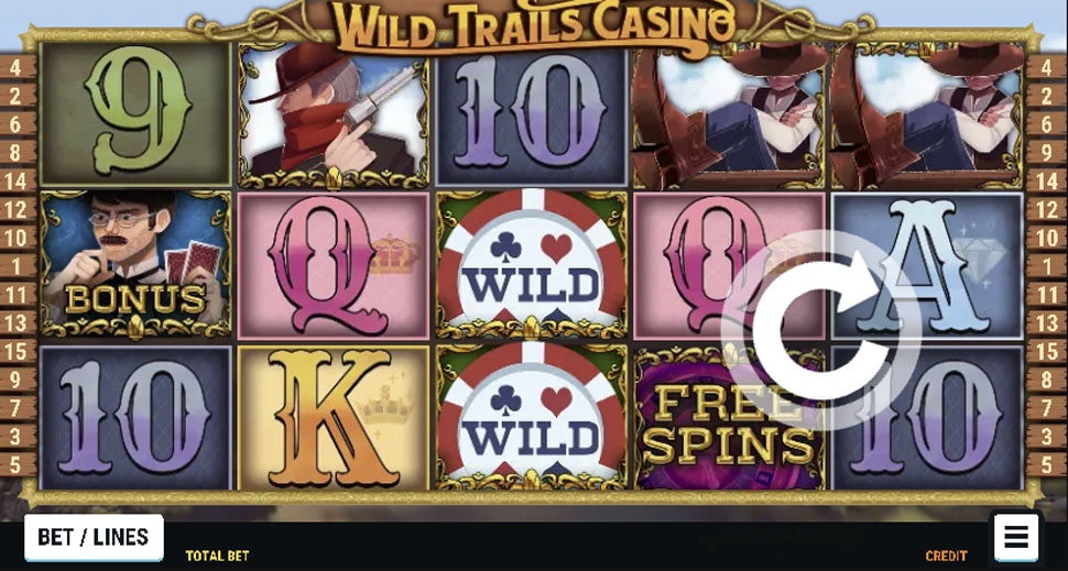 Wild Trails Casino slot