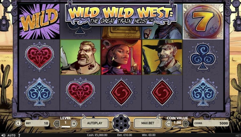 Wild Wild West: The Great Train Heist - Slot