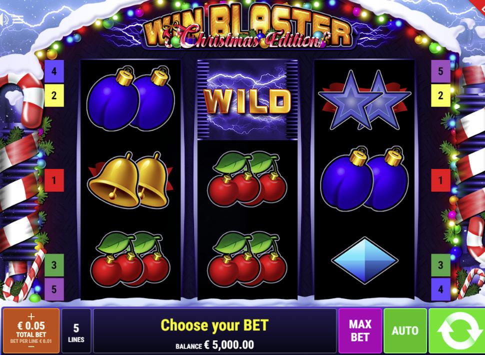 Win Blaster Christmas Edition - slot