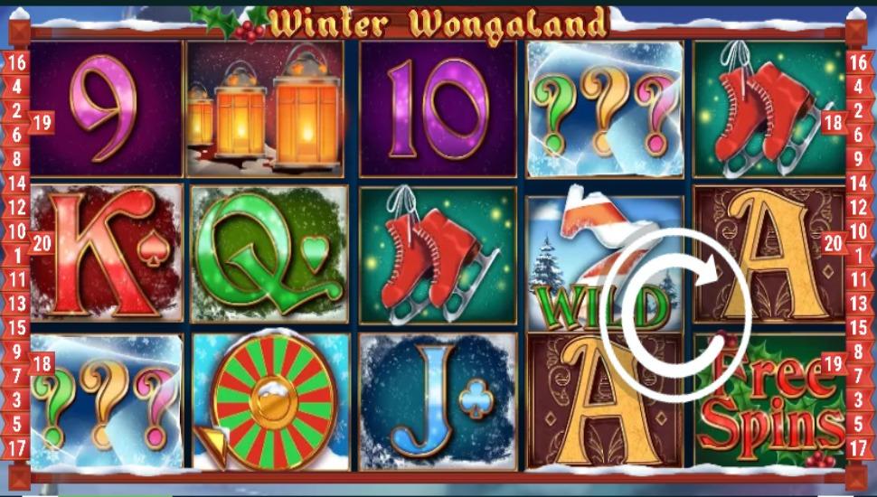 Winter Wongaland - Slot