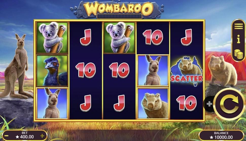 Wombaroo - slot