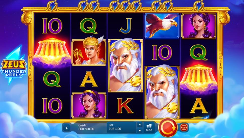 Zeus: Thunder Reels - Slot