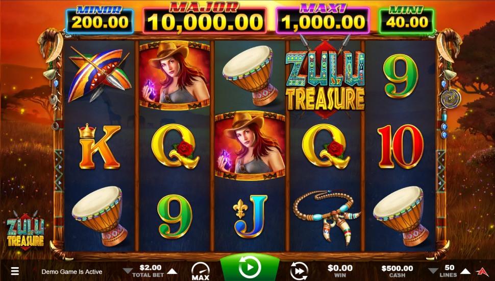 Zulu Treasure - Slot